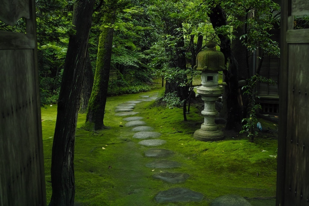 石泉荘入り口